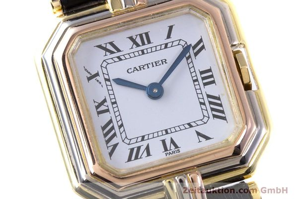 Used luxury watch Cartier * 18 ct gold quartz Kal. 66  | 153583 02