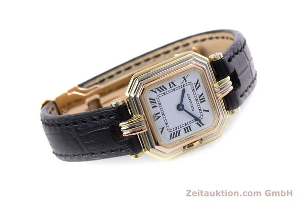 Used luxury watch Cartier * 18 ct gold quartz Kal. 66  | 153583 03