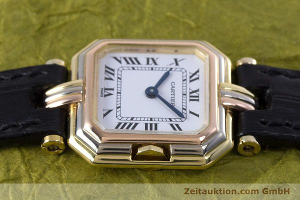 Used luxury watch Cartier * 18 ct gold quartz Kal. 66  | 153583 05