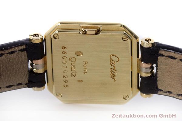 Used luxury watch Cartier * 18 ct gold quartz Kal. 66  | 153583 08