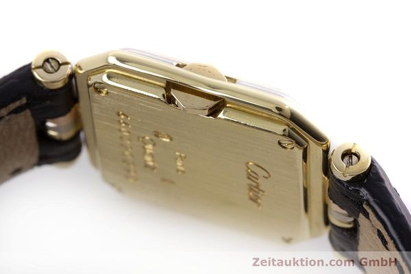 Used luxury watch Cartier * 18 ct gold quartz Kal. 66  | 153583 09