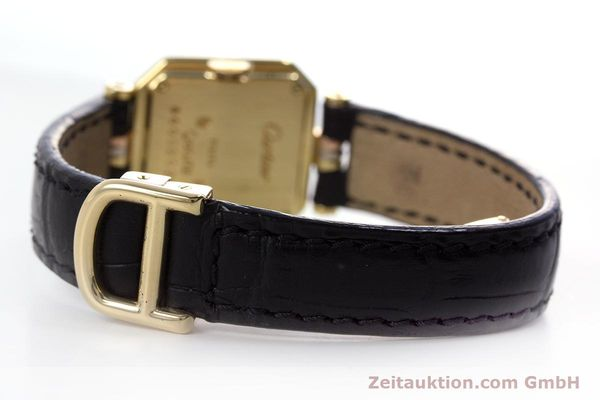 Used luxury watch Cartier * 18 ct gold quartz Kal. 66  | 153583 10