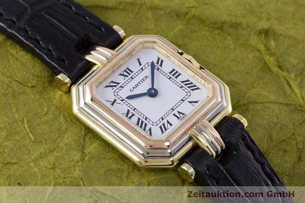 Used luxury watch Cartier * 18 ct gold quartz Kal. 66  | 153583 13