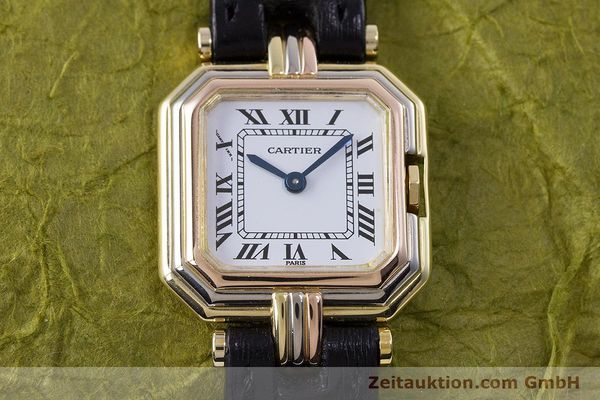Used luxury watch Cartier * 18 ct gold quartz Kal. 66  | 153583 14