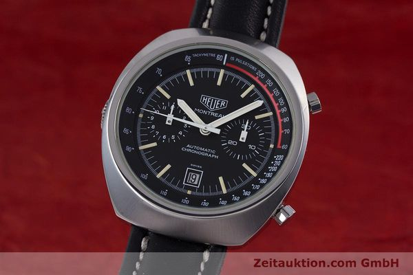 TAG HEUER CHRONOGRAPH STEEL AUTOMATIC KAL. 12 VINTAGE [153591]