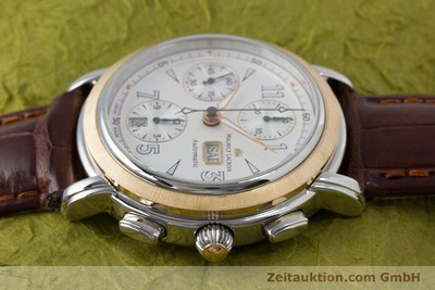 MAURICE LACROIX MASTERPIECE CHRONOGRAPH STEEL / GOLD AUTOMATIC KAL. ML67 ETA 7750 LP: 4900EUR [153605]