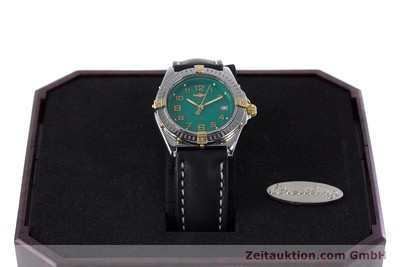 BREITLING LADY WINGS COCKPIT DAMENUHR STAHL / GOLD B67050 VP: 2910,- EURO [153614]
