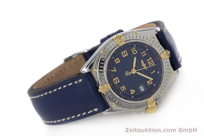 BREITLING WINGS STEEL / GOLD QUARTZ KAL. B67 ETA 956612 LP: 2910EUR [153615]