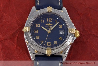 BREITLING LADY WINGS COCKPIT DAMENUHR STAHL / GOLD B67050 VP: 2910,- EURO [153615]