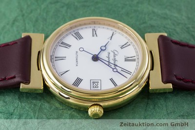 GLASHÜTTE GOLD-PLATED AUTOMATIC KAL. GUB 10-30 [153616]