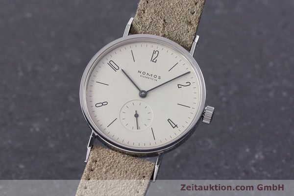 NOMOS TANGENTE STEEL MANUAL WINDING KAL. ETA 7001 LP: 1380EUR [153617]