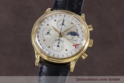 CHRONOSWISS A. ROCHAT CHRONOGRAPH GOLD-PLATED AUTOMATIC KAL. VAL 7750 [153622]