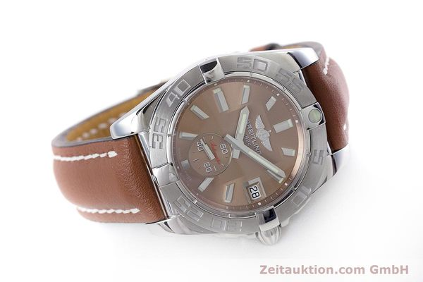 Used luxury watch Breitling Galactic steel automatic Kal. B37 ETA 2895-2 Ref. A37330  | 153639 03