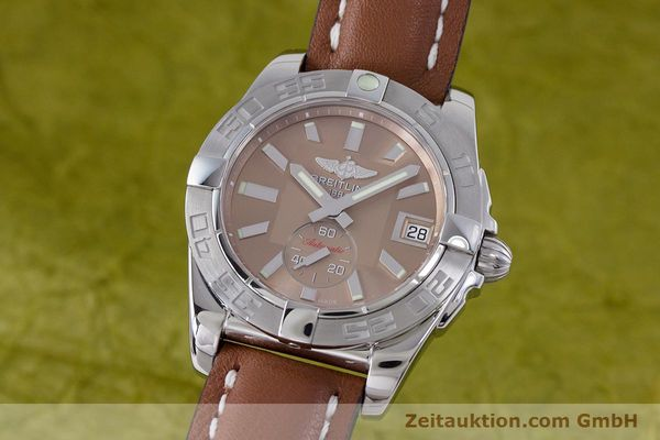 Used luxury watch Breitling Galactic steel automatic Kal. B37 ETA 2895-2 Ref. A37330  | 153639 04