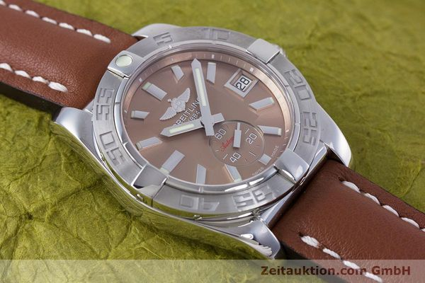 Used luxury watch Breitling Galactic steel automatic Kal. B37 ETA 2895-2 Ref. A37330  | 153639 12