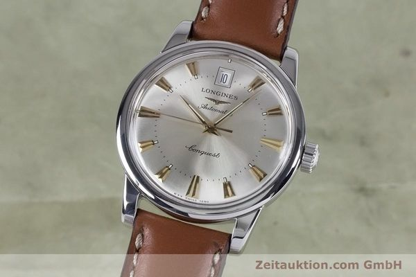 LONGINES CONQUEST STEEL AUTOMATIC KAL. 633.5 ETA 2824-2 LP: 890EUR VINTAGE [153641]