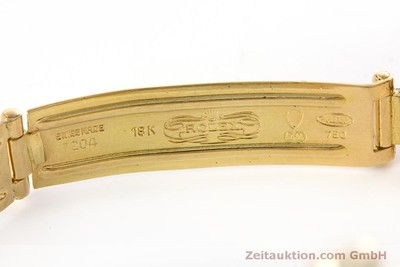 ROLEX OYSTER PERPETUAL ORO 18 CT AUTOMATISMO KAL. 2030 LP: 20600EUR VINTAGE [153642]