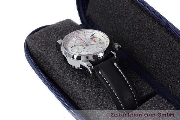 Used luxury watch Longines Admiral chronograph steel automatic Kal. L.705.2 ETA A07231 Ref. L3.666.4  | 153648 07