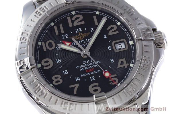 Used luxury watch Breitling Colt steel automatic Kal. B32 ETA 2893-2 Ref. A32350  | 153650 02