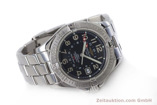 Used luxury watch Breitling Colt steel automatic Kal. B32 ETA 2893-2 Ref. A32350  | 153650 03