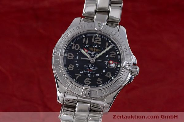 Used luxury watch Breitling Colt steel automatic Kal. B32 ETA 2893-2 Ref. A32350  | 153650 04