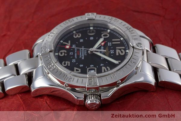Used luxury watch Breitling Colt steel automatic Kal. B32 ETA 2893-2 Ref. A32350  | 153650 05