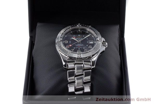 Used luxury watch Breitling Colt steel automatic Kal. B32 ETA 2893-2 Ref. A32350  | 153650 07