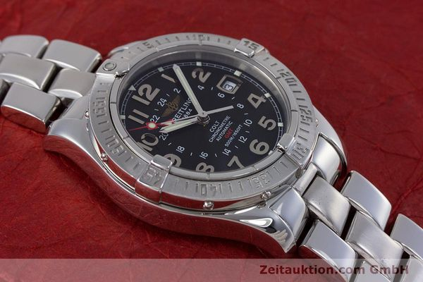 Used luxury watch Breitling Colt steel automatic Kal. B32 ETA 2893-2 Ref. A32350  | 153650 16