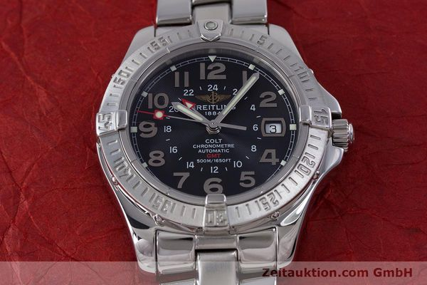 Used luxury watch Breitling Colt steel automatic Kal. B32 ETA 2893-2 Ref. A32350  | 153650 17
