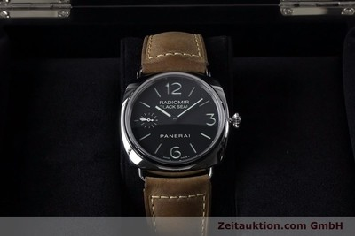 PANERAI BLACK SEAL STEEL MANUAL WINDING KAL. ETA B99501 LP: 5400EUR [153653]