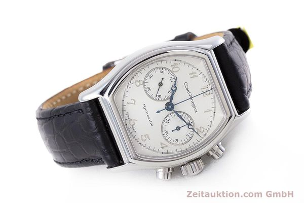 Used luxury watch Girard Perregaux Richeville chronograph steel manual winding Kal. LWO 1872 Ref. 2710  | 153654 03