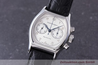 GIRARD PERREGAUX RICHEVILLE CHRONOGRAPH STEEL MANUAL WINDING KAL. LWO 1872 LP: 11500EUR [153654]