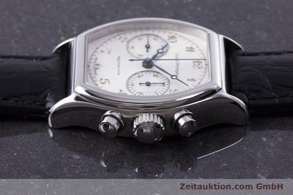 Used luxury watch Girard Perregaux Richeville chronograph steel manual winding Kal. LWO 1872 Ref. 2710  | 153654 05