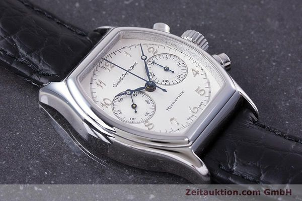 Used luxury watch Girard Perregaux Richeville chronograph steel manual winding Kal. LWO 1872 Ref. 2710  | 153654 13