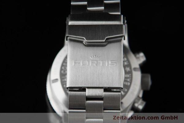 Used luxury watch Fortis B-42 chronograph steel automatic Ref. 638.10.141.4  | 153660 03
