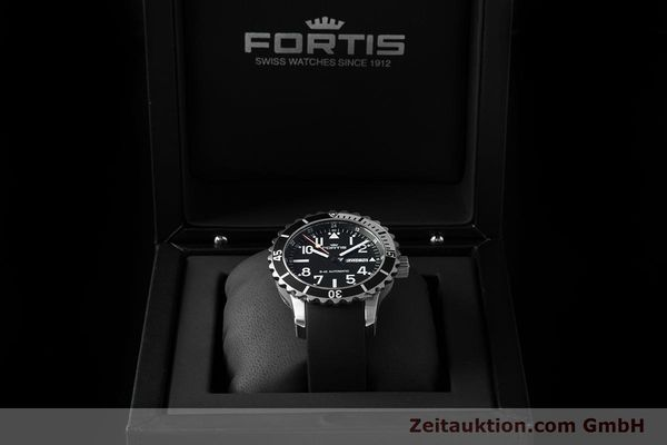 Used luxury watch Fortis B-42 steel automatic Ref. 670.17.158  | 153662 07