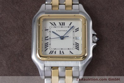 CARTIER PANTHERE ACIER / OR QUARTZ KAL. 87.06 LP: 7100EUR [153666]