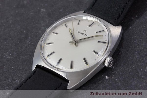 Used luxury watch Zenith * steel manual winding Kal. 2542 Ref. 955D632  | 153667 01