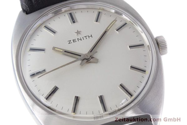 Used luxury watch Zenith * steel manual winding Kal. 2542 Ref. 955D632  | 153667 02