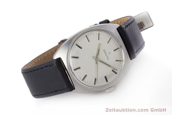 Used luxury watch Zenith * steel manual winding Kal. 2542 Ref. 955D632  | 153667 03