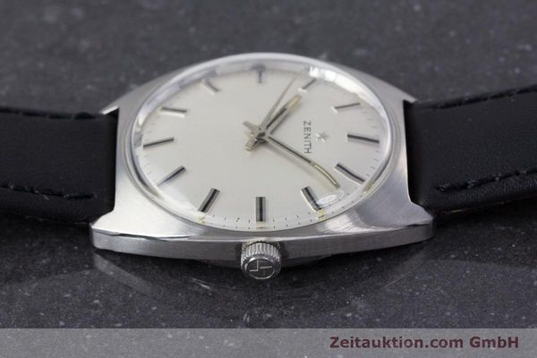 Used luxury watch Zenith * steel manual winding Kal. 2542 Ref. 955D632  | 153667 05