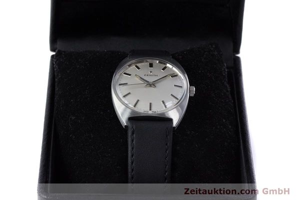 Used luxury watch Zenith * steel manual winding Kal. 2542 Ref. 955D632  | 153667 07
