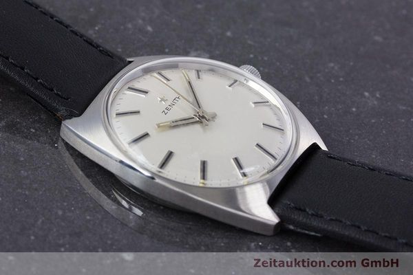 Used luxury watch Zenith * steel manual winding Kal. 2542 Ref. 955D632  | 153667 12
