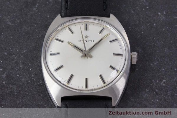 Used luxury watch Zenith * steel manual winding Kal. 2542 Ref. 955D632  | 153667 13