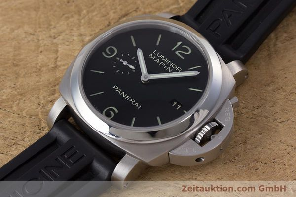 Used luxury watch Panerai Luminor Marina steel automatic Kal. P9000 Ref. PAM00312  | 153675 01