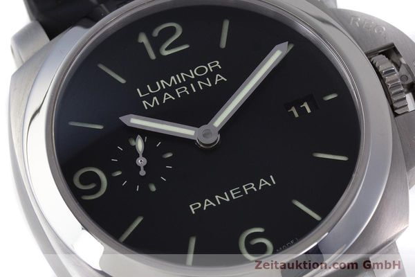 Used luxury watch Panerai Luminor Marina steel automatic Kal. P9000 Ref. PAM00312  | 153675 02