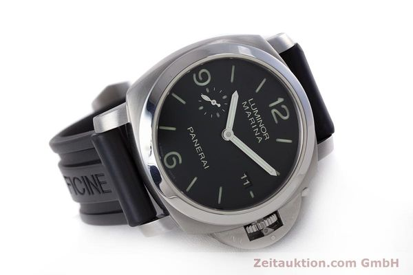 Used luxury watch Panerai Luminor Marina steel automatic Kal. P9000 Ref. PAM00312  | 153675 03