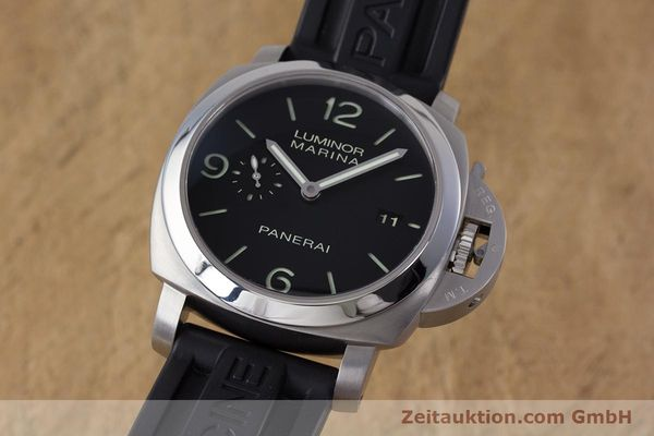 Used luxury watch Panerai Luminor Marina steel automatic Kal. P9000 Ref. PAM00312  | 153675 04