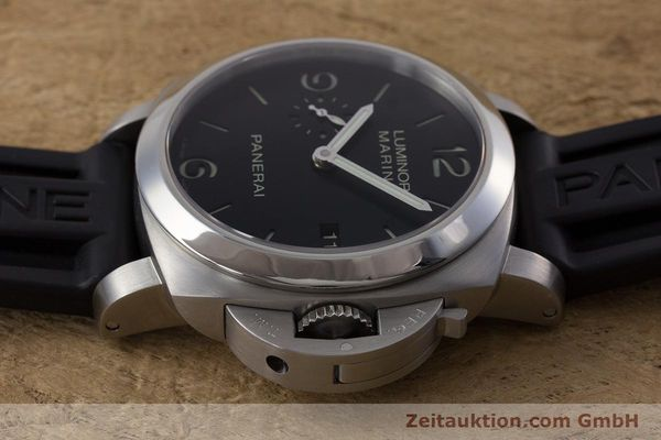 Used luxury watch Panerai Luminor Marina steel automatic Kal. P9000 Ref. PAM00312  | 153675 05