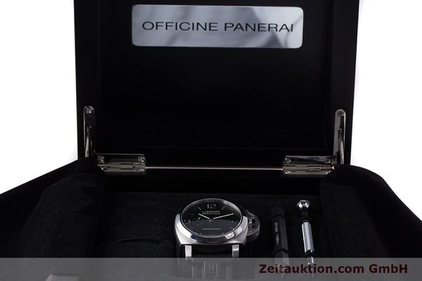 Used luxury watch Panerai Luminor Marina steel automatic Kal. P9000 Ref. PAM00312  | 153675 07